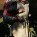 Pilger Ausstattung, Pilgerkleidung: Die Hirschegger Loden Pilgerkutte.